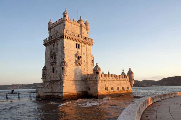 Lisbon Castle Photograph - Torre De Belem, Lisbon by Typo-graphics
