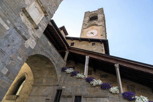 Wall Art - Photograph - Torre Del Campanone - Wonderful Bergamos Medieval Legacy  by Georgia Mizuleva