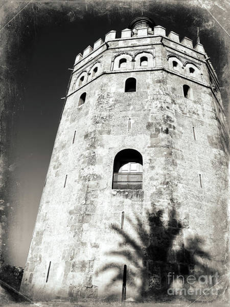 Photograph - Torre Del Oro Seville by John Rizzuto