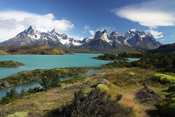 Antartica Wall Art - Photograph - Torres Del Paine by Gunter Hartnagel