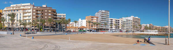 Wall Art - Photograph - Torrevieja Panorama 1 by Mike Walker