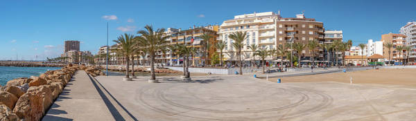 Wall Art - Photograph - Torrevieja Panorama 2 by Mike Walker