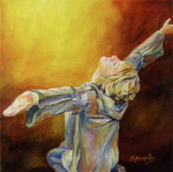 Holy Spirit Painting - Total Abandon by Chris Brandley