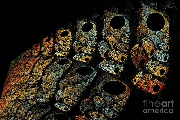 Digital Art - Totem Ancestral March by Doug Morgan