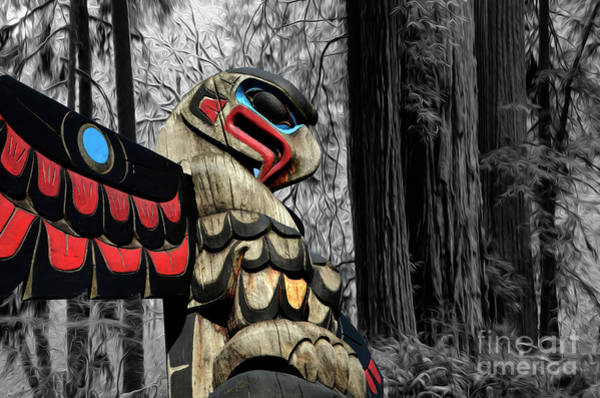 Wall Art - Photograph - Totem Of The Forest by Bob Christopher
