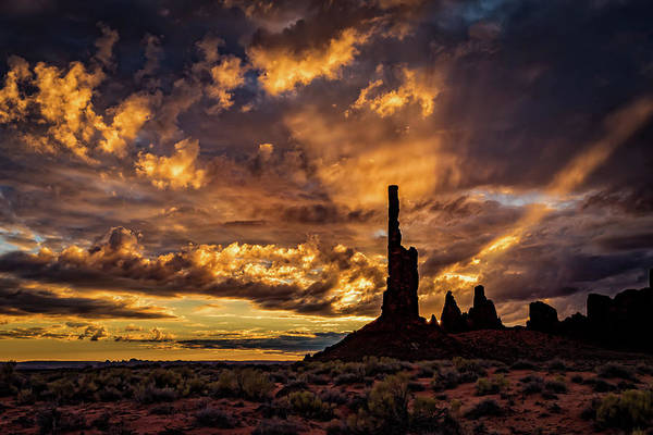 Photograph - Totem Pole Dawn by William Christiansen