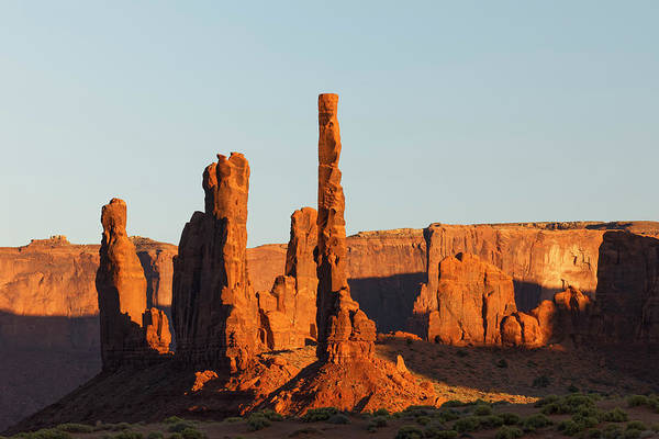 Wall Art - Photograph - Totem Pole Formation At Sunset by Adam Jones