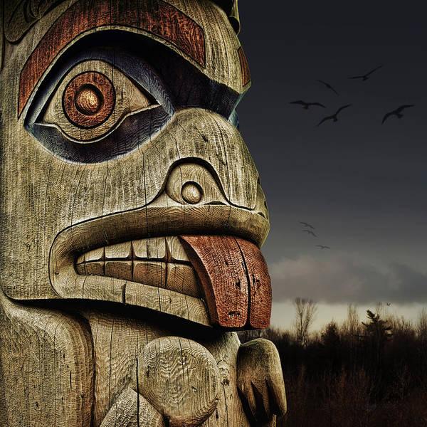 Photograph - Totem by Tatiana Travelways