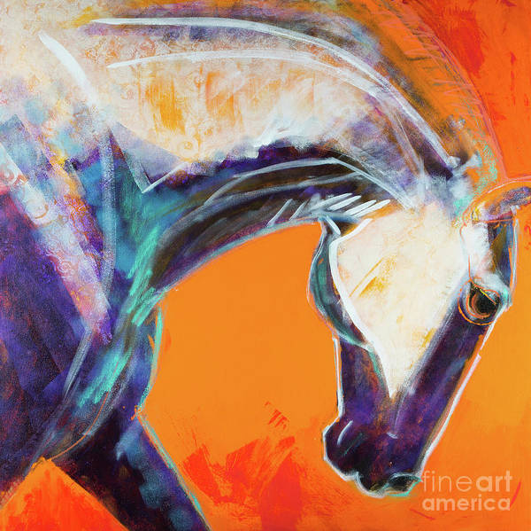 Rosemary Painting - Totemic by Rosemary Conroy