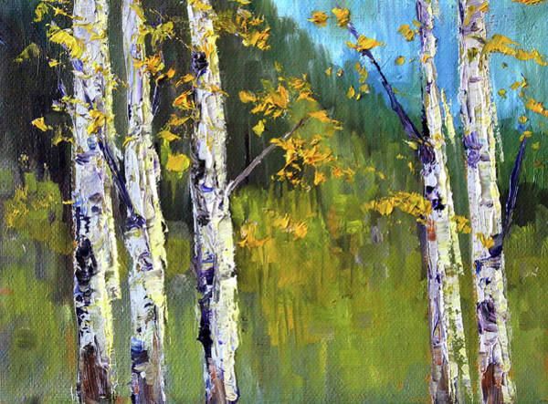 Wall Art - Painting - Touch Of Fall by Nancy Merkle