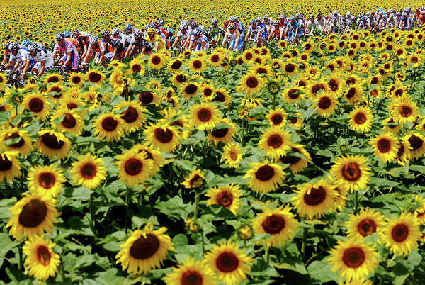Wall Art - Photograph - Tour De France 2009 Stage Eleven by Jasper Juinen
