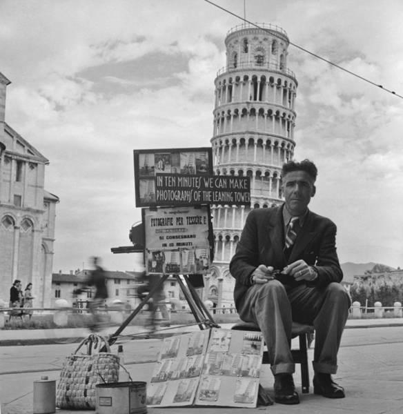 Tourist Photographer Art Print