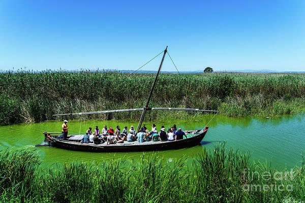Photograph - Tourists Sailing On A Touristic  by Joaquin Corbalan