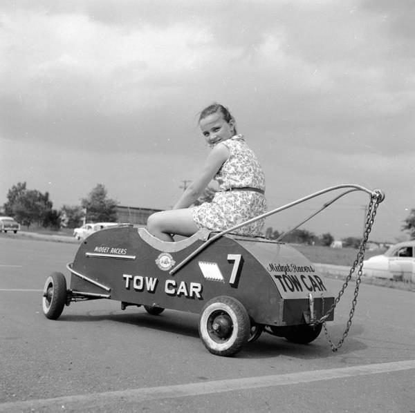 Teenager Photograph - Tow Car by Ecell