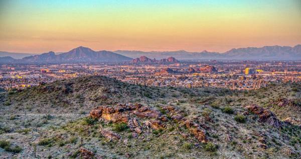 Photograph - Toward Camelback  by Ants Drone Photography