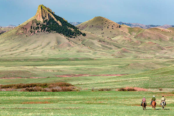 Photograph - Toward The Buttes by Todd Klassy