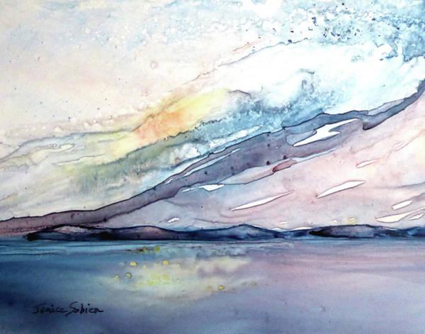Laguna Beach Painting - Towards Avalon by Janice Sobien