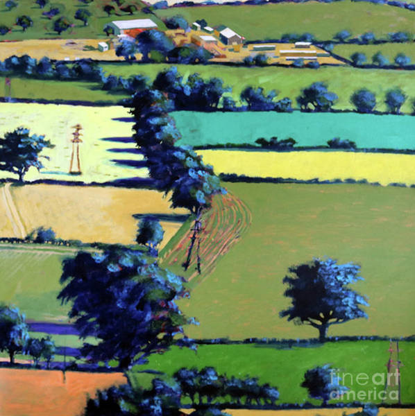 Wall Art - Painting - Towards Upton by Paul Powis