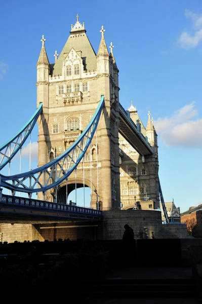 Material Photograph - Tower Bridge by Anchy