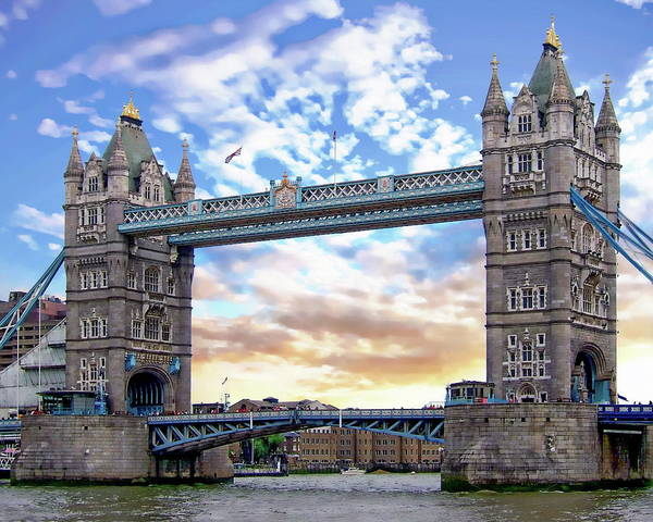 Photograph - Tower Bridge by Anthony Dezenzio