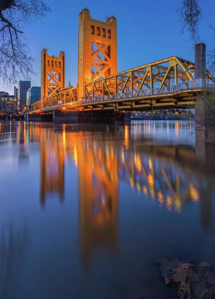 Photograph - Tower Bridge At Sunrise - 2 by Jonathan Hansen