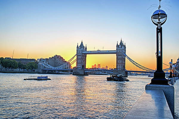Photograph - Tower Bridge At Sunset London Uk United Kingdom England by Toby McGuire