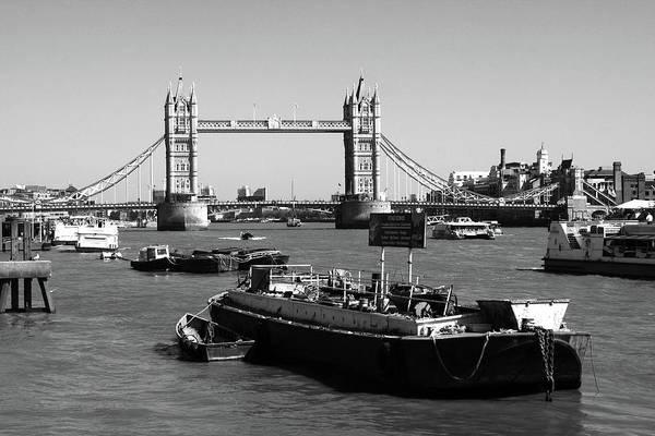 Photograph - Tower Bridge From The River Thames by Aidan Moran