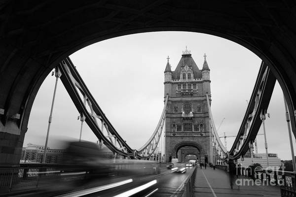 Wall Art - Photograph - Tower Bridge In London In United by Songquan Deng