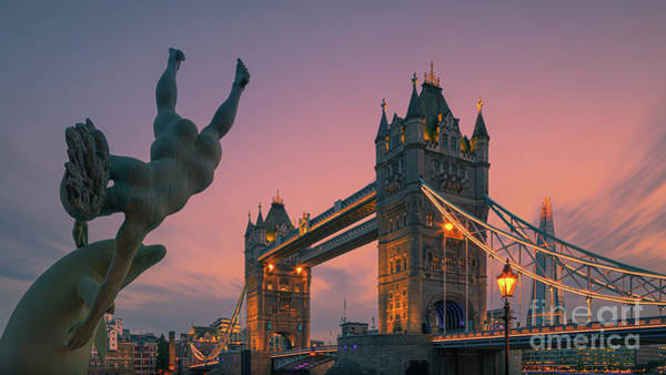 Wall Art - Photograph - Tower Bridge, London by Henk Meijer Photography