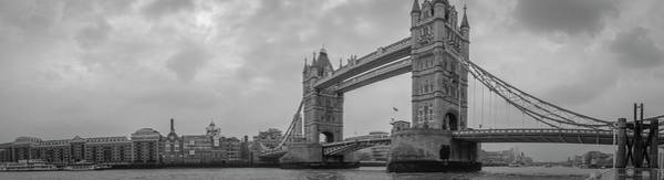 Photograph - Tower Bridge London by Philip Rispin