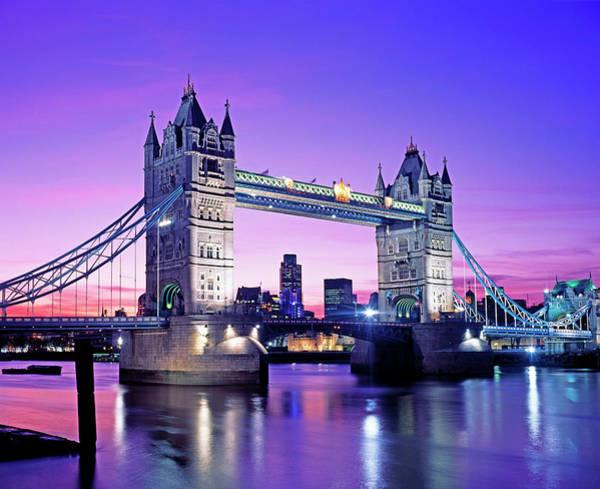 Wall Art - Photograph - Tower Bridge. London, Uk by Murat Taner