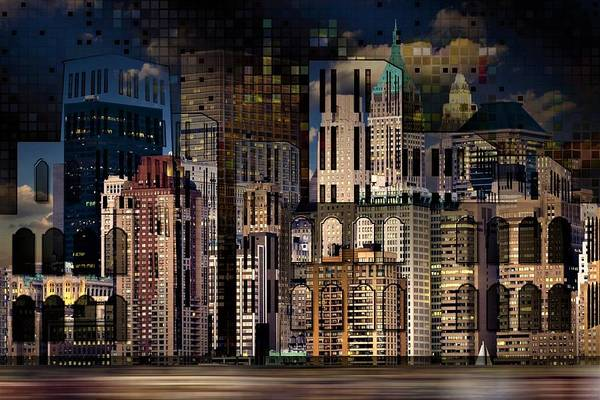 Wall Art - Painting - Tower Building by ArtMarketJapan