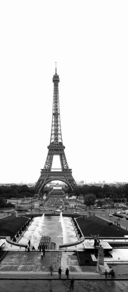 Wall Art - Photograph - Tower In A City, Eiffel Tower, Place Du by Panoramic Images