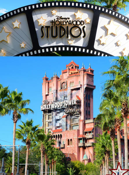 Wall Art - Photograph - Tower Of Terror Poster A by David Lee Thompson
