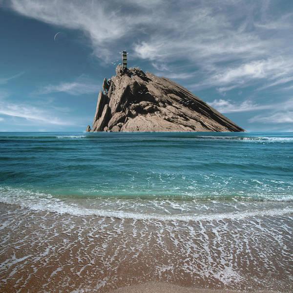 Digital Art - Tower Rock by Marc Ward