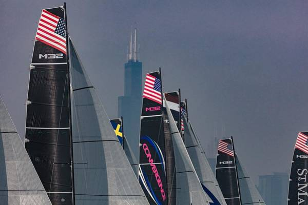 Photograph - Towering Sails by Steven Lapkin