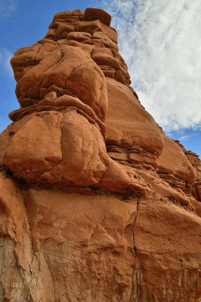 Photograph - Towering Sandstone Hoodoos Q by Ray Mathis