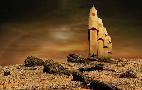 Digital Art - Towers Of Icarus II by Marc Ward