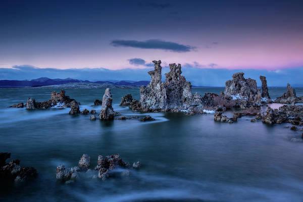 Eastern Sierra Photograph - Towers Of Tufa by Dan Holmes