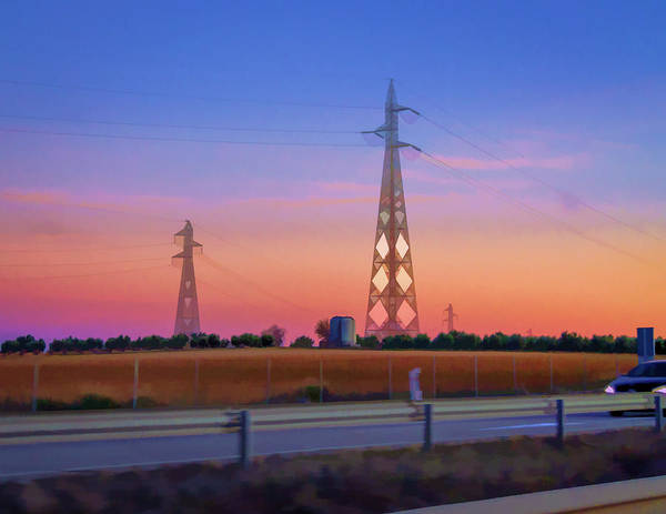 Photograph - Towers On The Road by Borja Robles