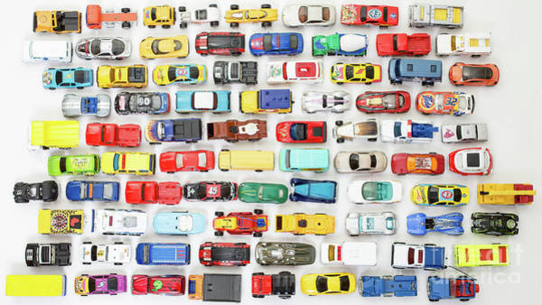 Wall Art - Photograph - Toy Car Collection by Edward Fielding
