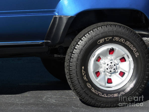 Photograph - Toyota 4 Runner Red Accent by Amy Dundon