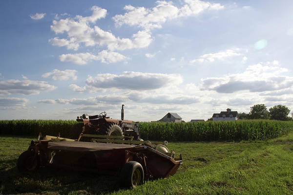 Photograph - Tractor Stop by Dylan Punke