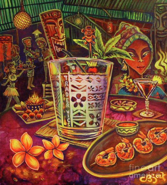 Trader Vic Mai Tai Art Print