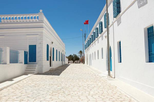 Tunisia Wall Art - Photograph - Traditional Architecture, Djerba Tunisia by Tim E White