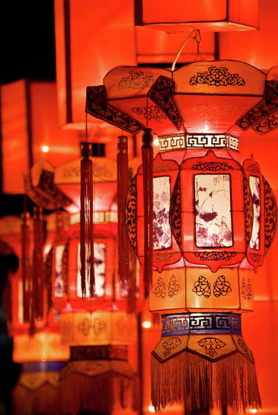 Traditional Chinese Lantern Art Print by Ymgerman