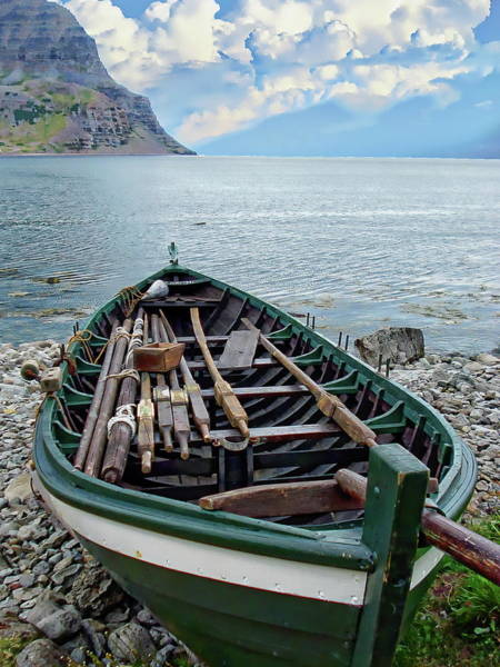 Photograph - Traditional Fishing Boat by Anthony Dezenzio