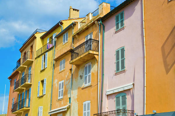 French Riviera Photograph - Traditional Houses by John Harper