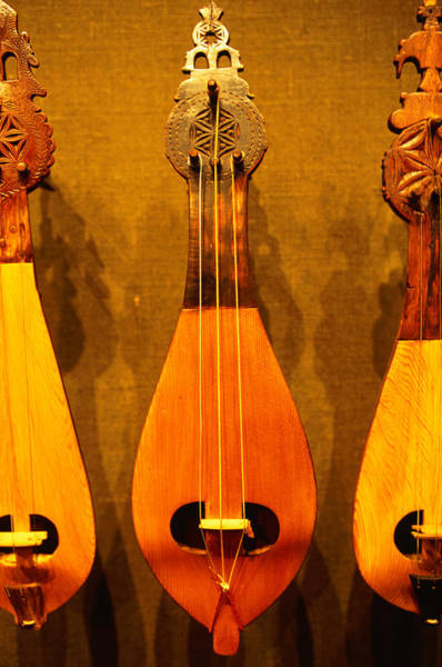 Greece Photograph - Traditional Instruments On Display In by Lonely Planet