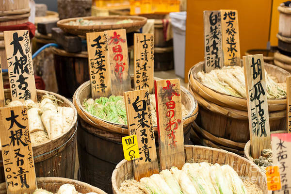 Wall Art - Photograph - Traditional Market In Japan by Curioso